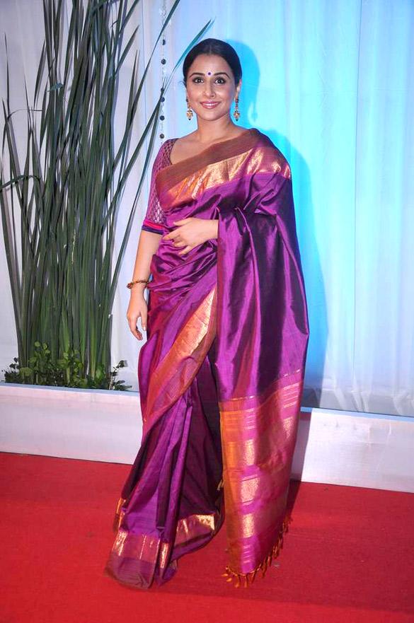 Vidya Balan at Esha Deol's Wedding Reception