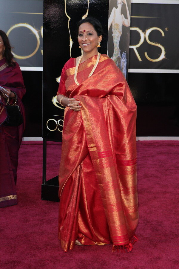 Bombay Jaishree at the Oscars