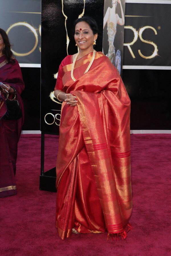 Bombay Jaishree at the Oscars